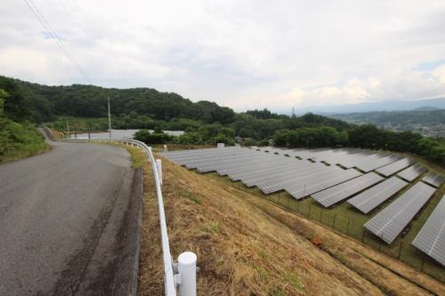 図1●出力約1MWの「第一実業飯田太陽光発電所」