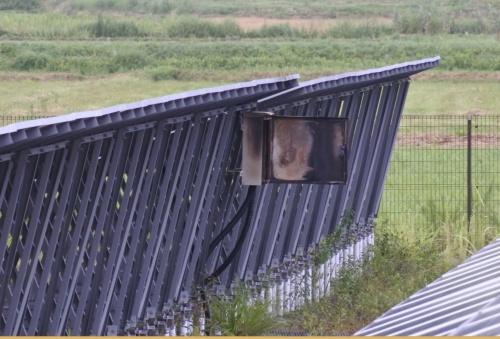図2●朝7時に火災の発生した接続箱