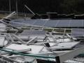 今夏、台風による太陽光被害、山間サイトでパネル飛散も(前半)