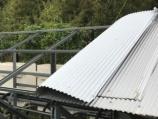 【千葉の太陽光被災・その3】吹き飛ぶトタン屋根、小型パワコンの遮光用も