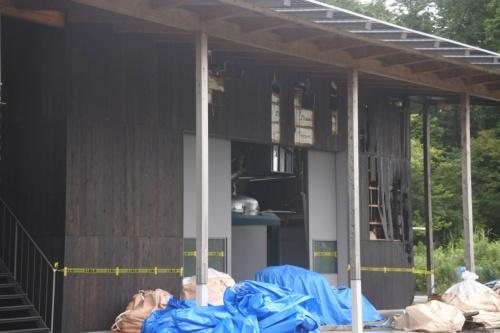 図2●建屋内の発電設備本体に損傷はなかった