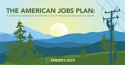 図1●「米国雇用計画(アメリカン・ジョブス・プラン)」に含まれる再エネ導入拡大を可能にする送電網インフラ強化