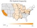米で急拡大する「ハイブリッド型メガソーラー」、計画中は8GW