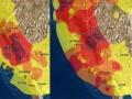 加州の山火事、太陽光発電にも影響、発電量が半減!