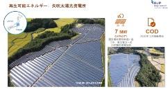 図2●山形県川西町の約25.4MW(左)、福島県矢吹町の約9.83MW(右)