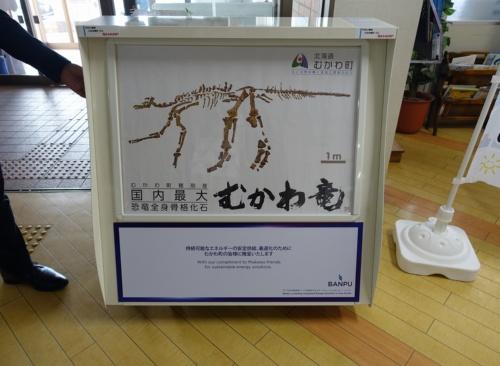 図4●北海道むかわ町に寄付した太陽光充電スタンド