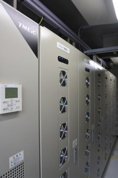 図6●200kWhのTMEIC製蓄電池システムを導入した