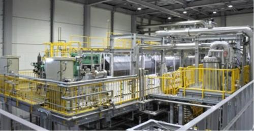 図10●水素製造装置は旭化成製のアルカリ水電解方式