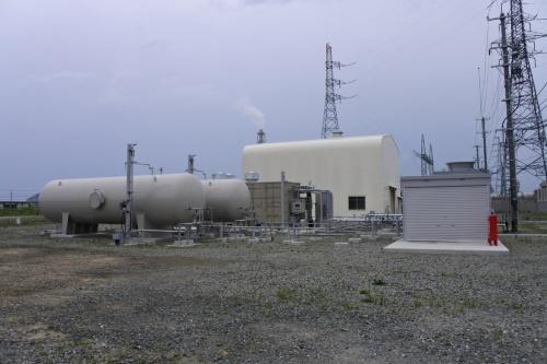 図3●センター内に設置された水素タンク