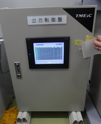 図5●「壱岐ソーラーパーク」にTMEICが設置した遠隔制御装置