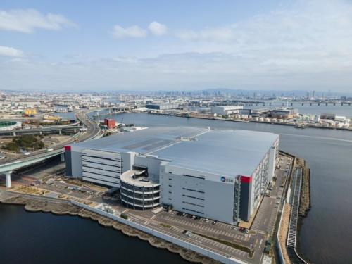 図1●アジア最大規模の物流施設「ESR尼崎ディストリビューションセンター(尼崎DC)」