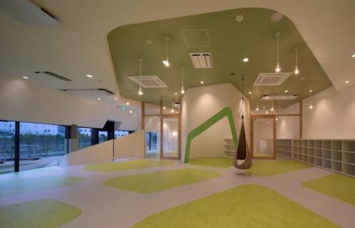 図4●保育室のスペース