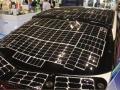太陽電池だけで「街乗り」可能なPHV、実証車を公開