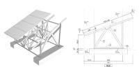 アルミ架台の仕様を例示し、実質的に規定化