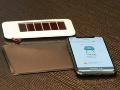 照明で発電する色素増感太陽電池、ビーコンに搭載
