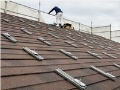 石粒付き鋼板屋根にも太陽光パネル、ハンファ製で