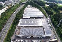 日本ベネックス本社工場の太陽光発電設備