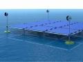 外洋の海上で太陽光発電! 風力・波力発電も融合、独企業が開発
