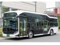 従業員の送迎に「燃料電池バス」、東京・有明で運行