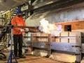 日本板硝子、米新工場で太陽光パネル用ガラス製造ライン稼働