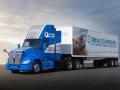 トヨタ、新型の燃料電池トラック公開、第二世代システム搭載