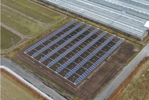 開発する小規模太陽光発電設備のイメージ