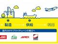 廃食用油による航空燃料の製造計画、コスモ石油が参画