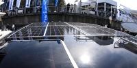 船舶向けの太陽光パネルを搭載