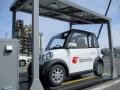「超小型EV+太陽光充電カーポート」、出光が苫小牧の製油所に導入
