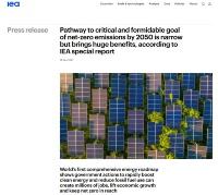 発電部門の9割が再エネ、中でも太陽光と風力で7割と想定