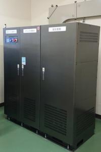名張市立薦原小学校に設置したリチウムイオン蓄電システム