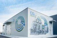 CO2循環プラントの外観