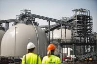 英国のバイオマス発電所「Drax Power Station」