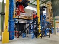 木質バイオマスガス化発電設備