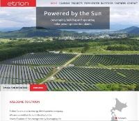 Etrionのホームページ