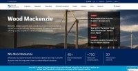 Wood Mackenzieのホームページ