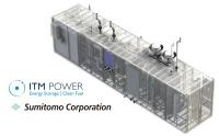 ITM Power製の固体高分子型水電解装置