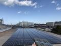 フクシン、屋根上太陽光と非化石証書で再エネ100%