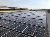 トーヨーカネツ千葉事業所の太陽光発電設備