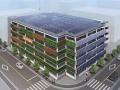 太陽光搭載・自家消費する立体駐車場、大和リースが商品化