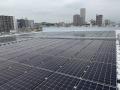 横浜冷凍、冷蔵倉庫を100%再エネで運用、屋根上太陽光と非化石証書で