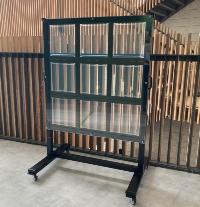展示学習用の発電ガラス