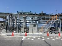 ベストーネ食品工場に設置した実証実験プラント