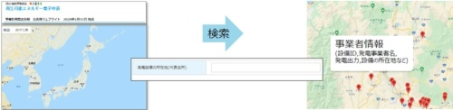 認定情報にマップ化のイメージ