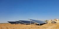 エンバイオHDがヨルダン・マフラク地区Manasah(上・620kW)、同地区Zaatari(下・330kW)で運営する太陽光発電所