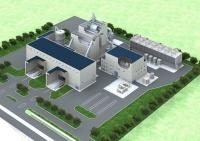 勇払エネルギーセンター合同会社の木質バイオマス発電所完成予想図