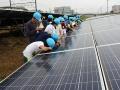 「最長メガソーラー」を題材に小学生が「未来の発電」を学ぶ