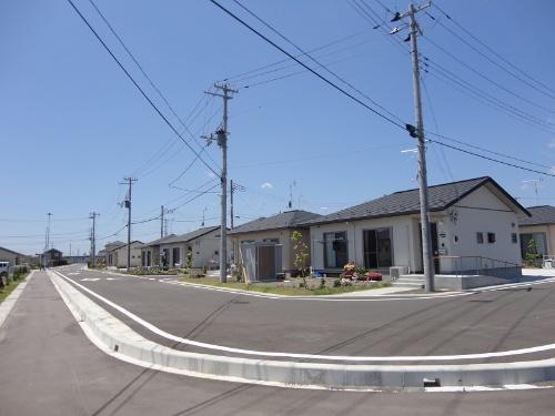図5●自営線で電力供給を受ける公営住宅(出所:日経BP)