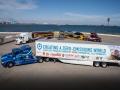 トヨタ、米で燃料電池トラック公開、バイオマス水素も計画