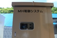 水電解装置用電源で太陽光からの出力を安定化